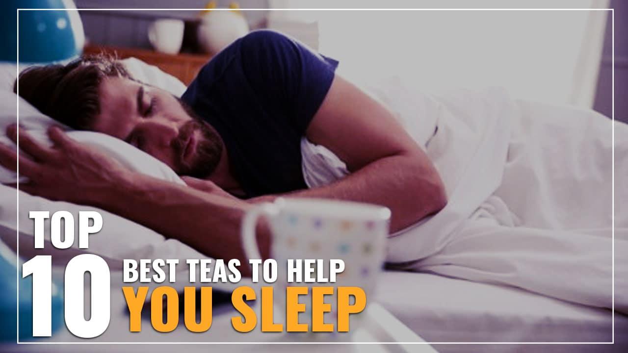 10 teas to help you sleep alt text