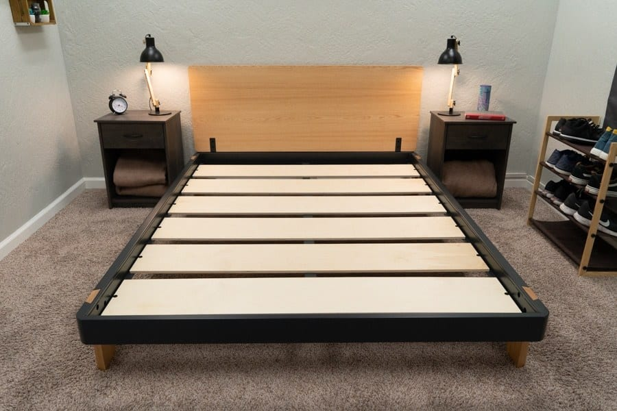 Tuft Needle Bed Frame Review Overhead