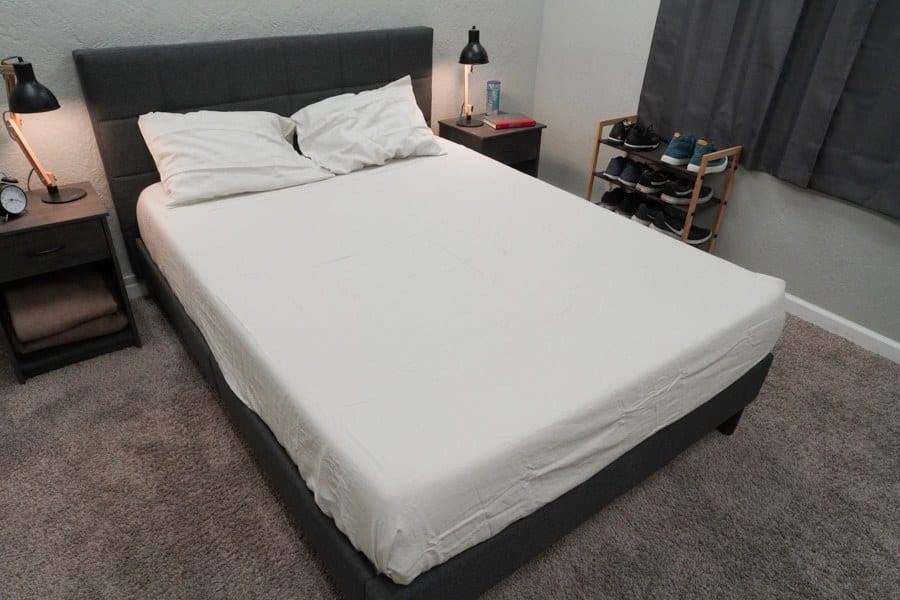 Tuft Needle Linen Sheets Review 13 On Mattress