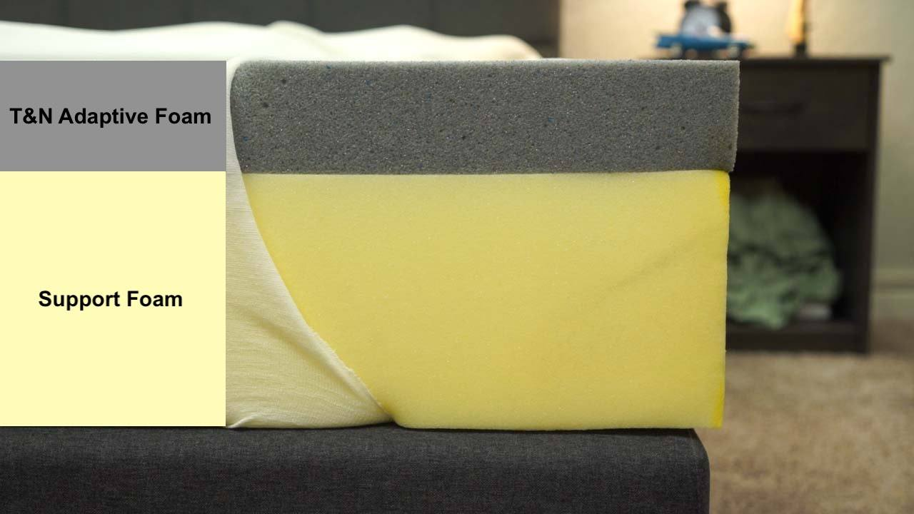 tuft and needle mattress review construction and foam layers
