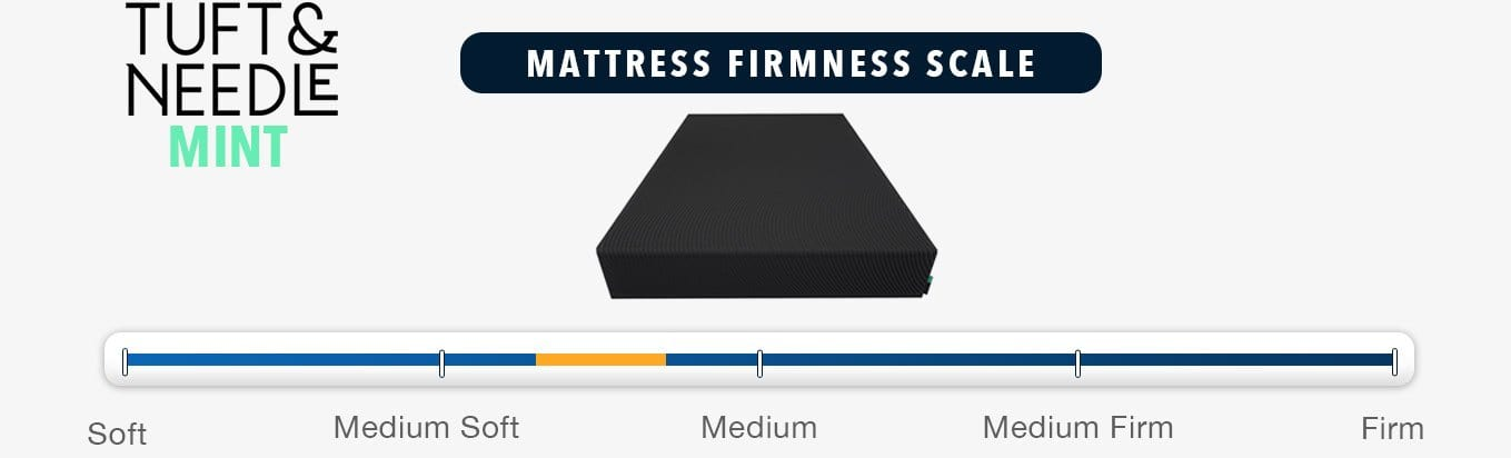 tuft and needle mint mattress review firmness and feel