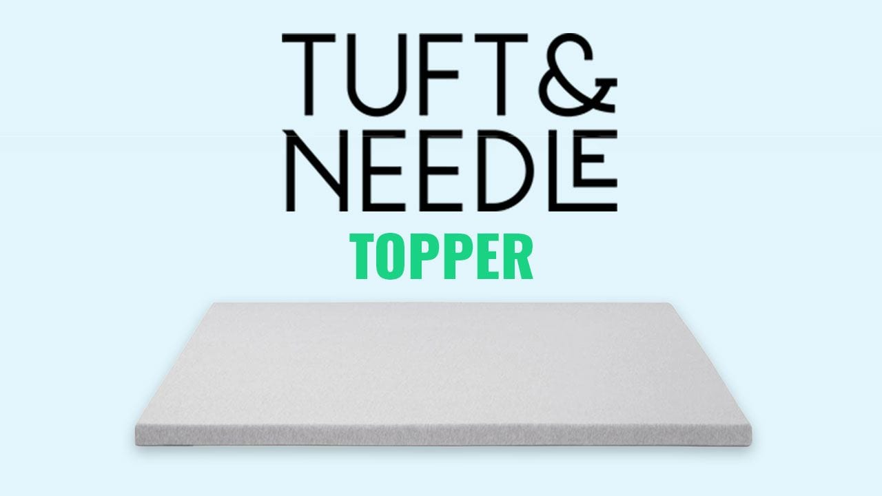 tuft and needle mattress topper review