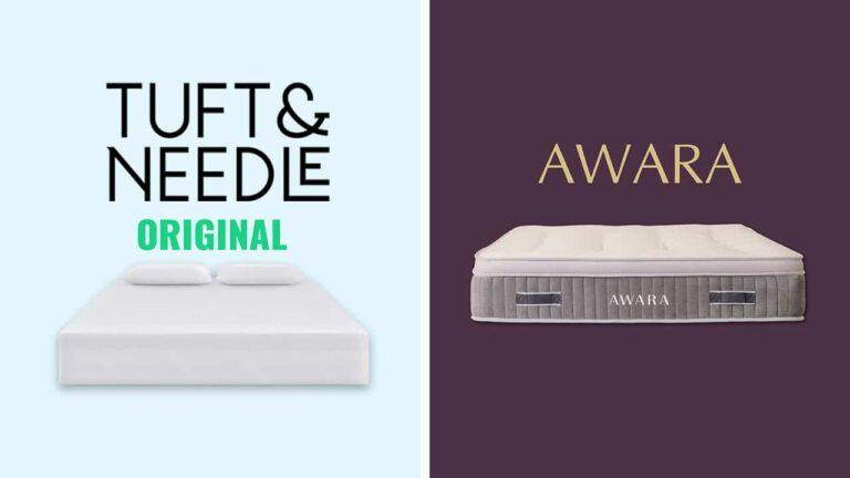 Awara vs Tuft And Needle Mattress