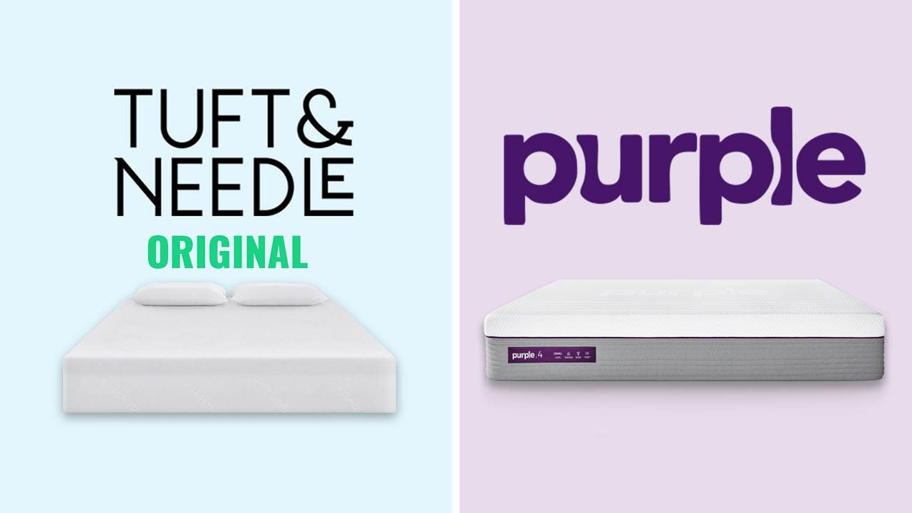 Tuft and Needle vs Purple Mattress Comparison