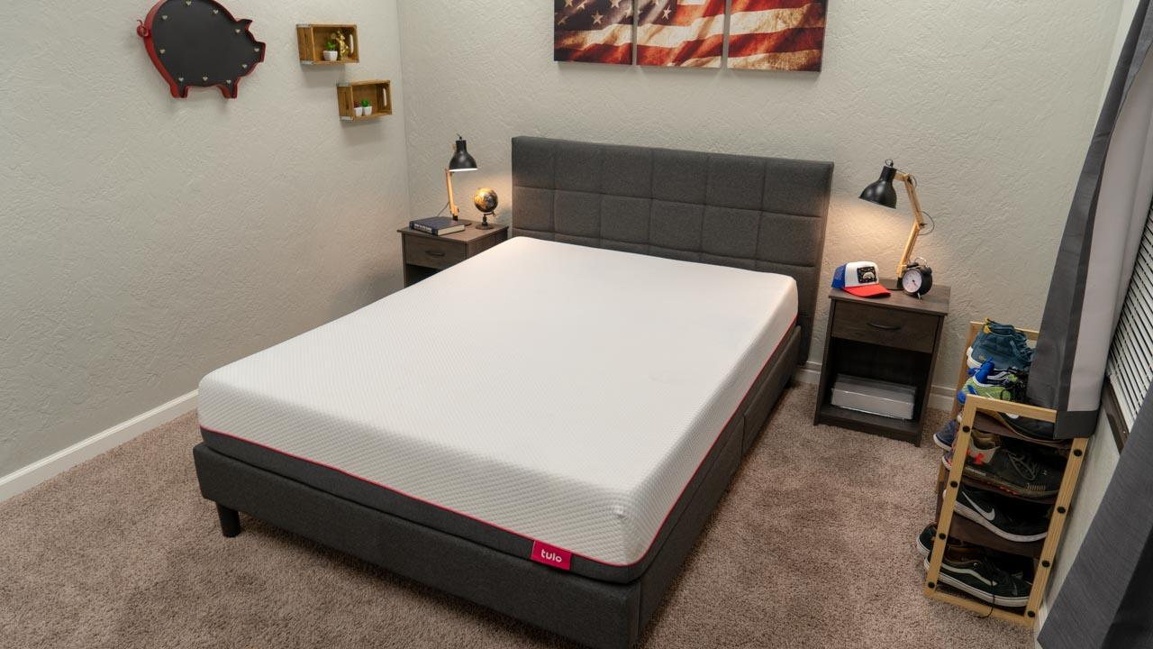 tulo mattress review bed in a box