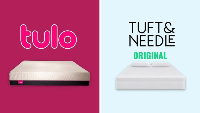 Tulo vs Tuft and Needle Mattress