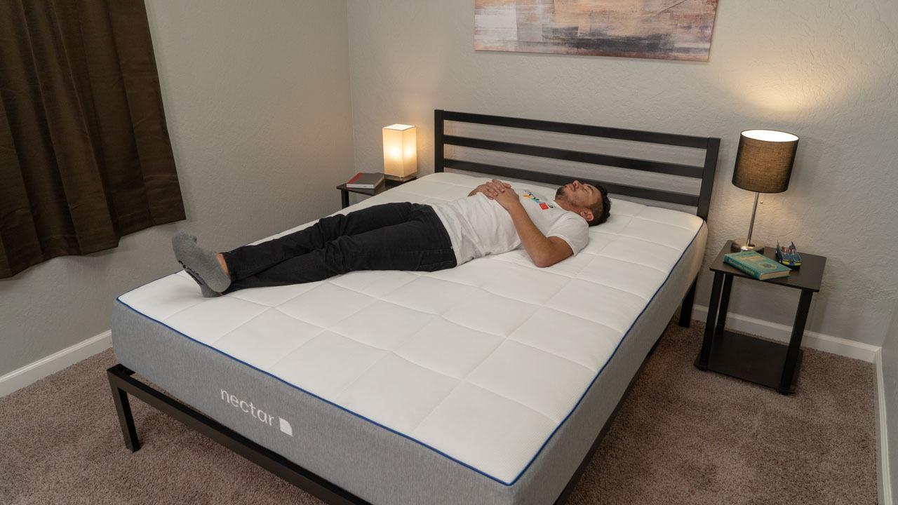 nectar uk mattress review back sleepers