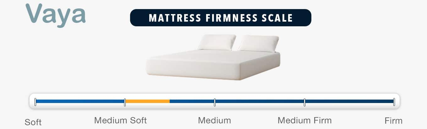 vaya mattress review firmness