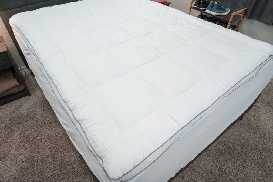 ViscoSoft Serene Hybrid Mattress Topper pillow topper