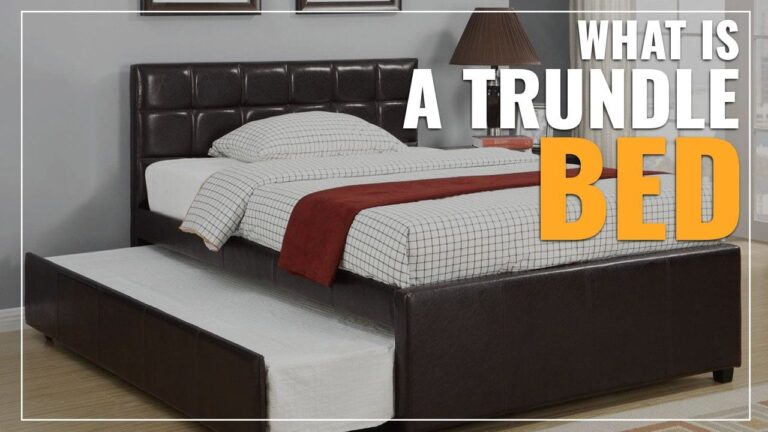 What Is A Trundle Bed? (Explained)