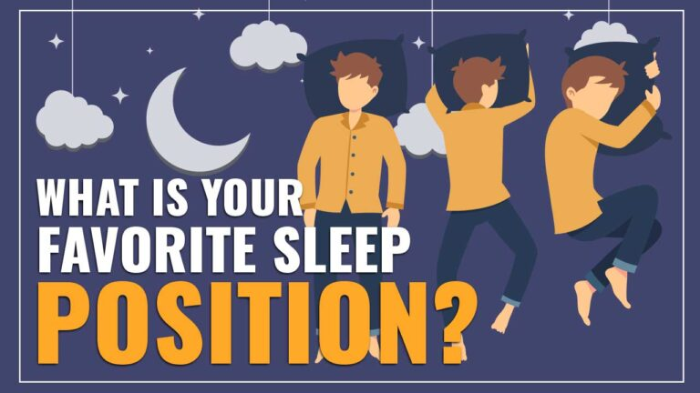 What's Your Favorite Sleeping Position?