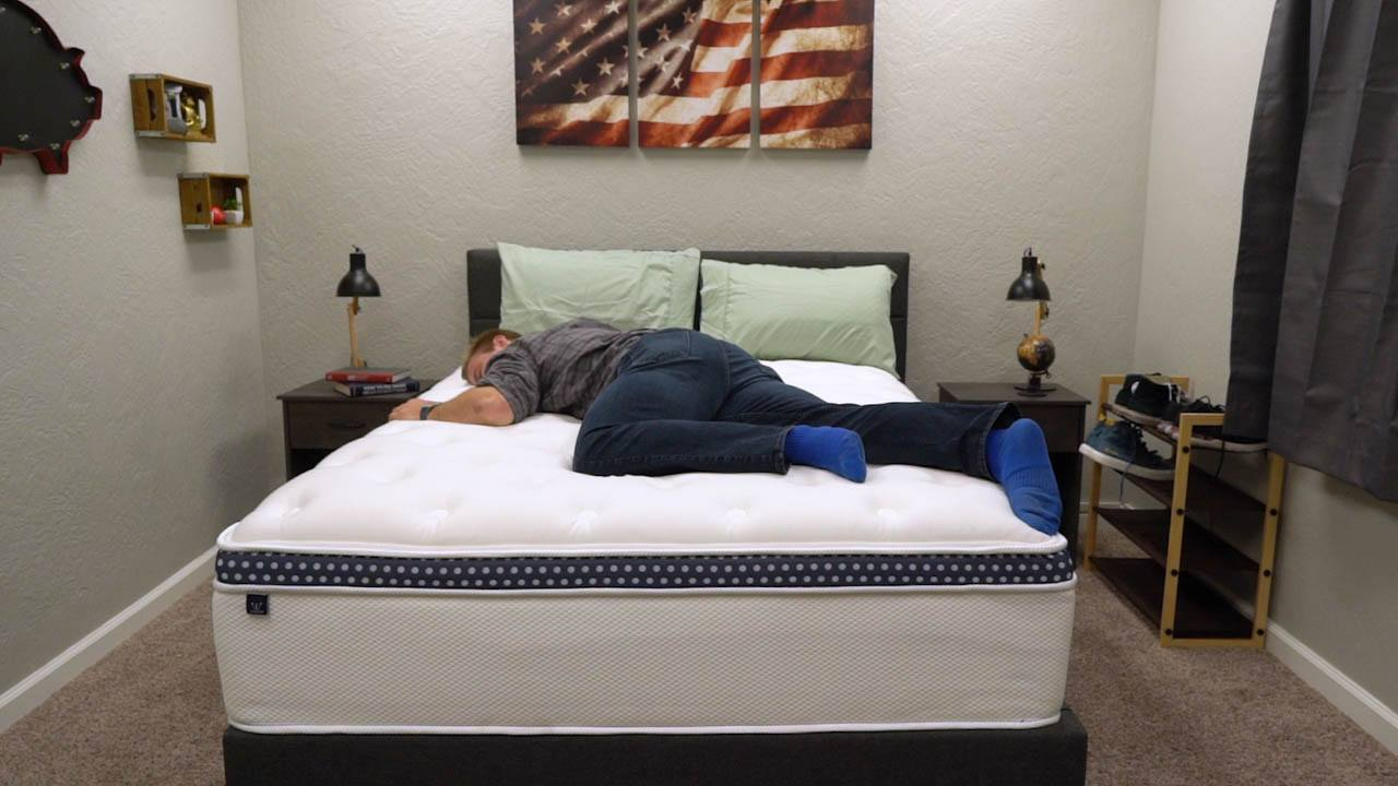 winkbed mattress review stomach and back sleepers