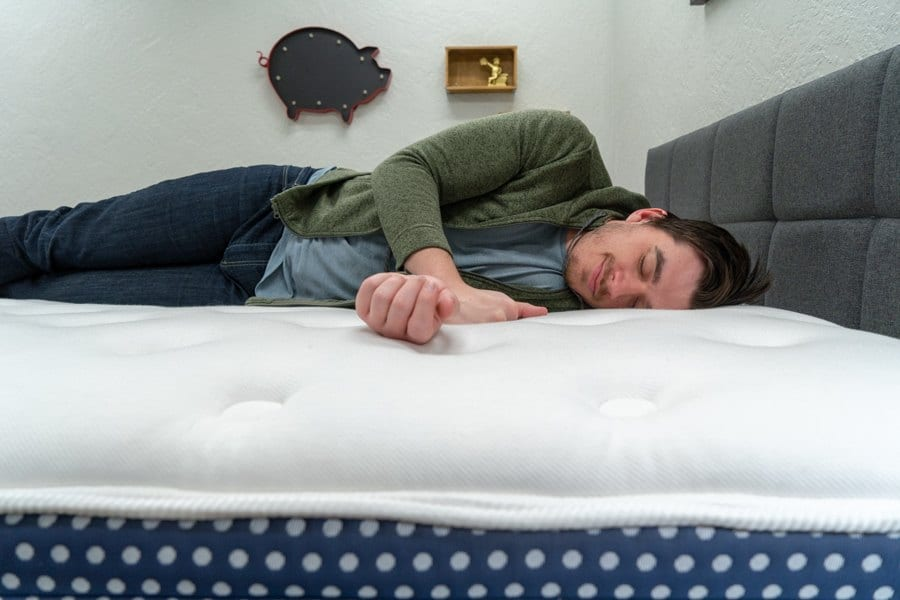 winkbed reviews side sleepers for this mattress