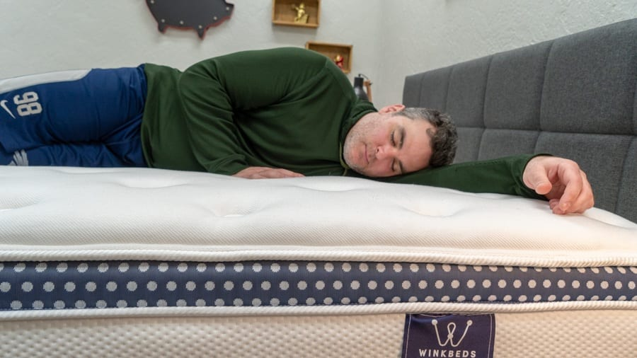 winkbed mattress reviews side sleepers