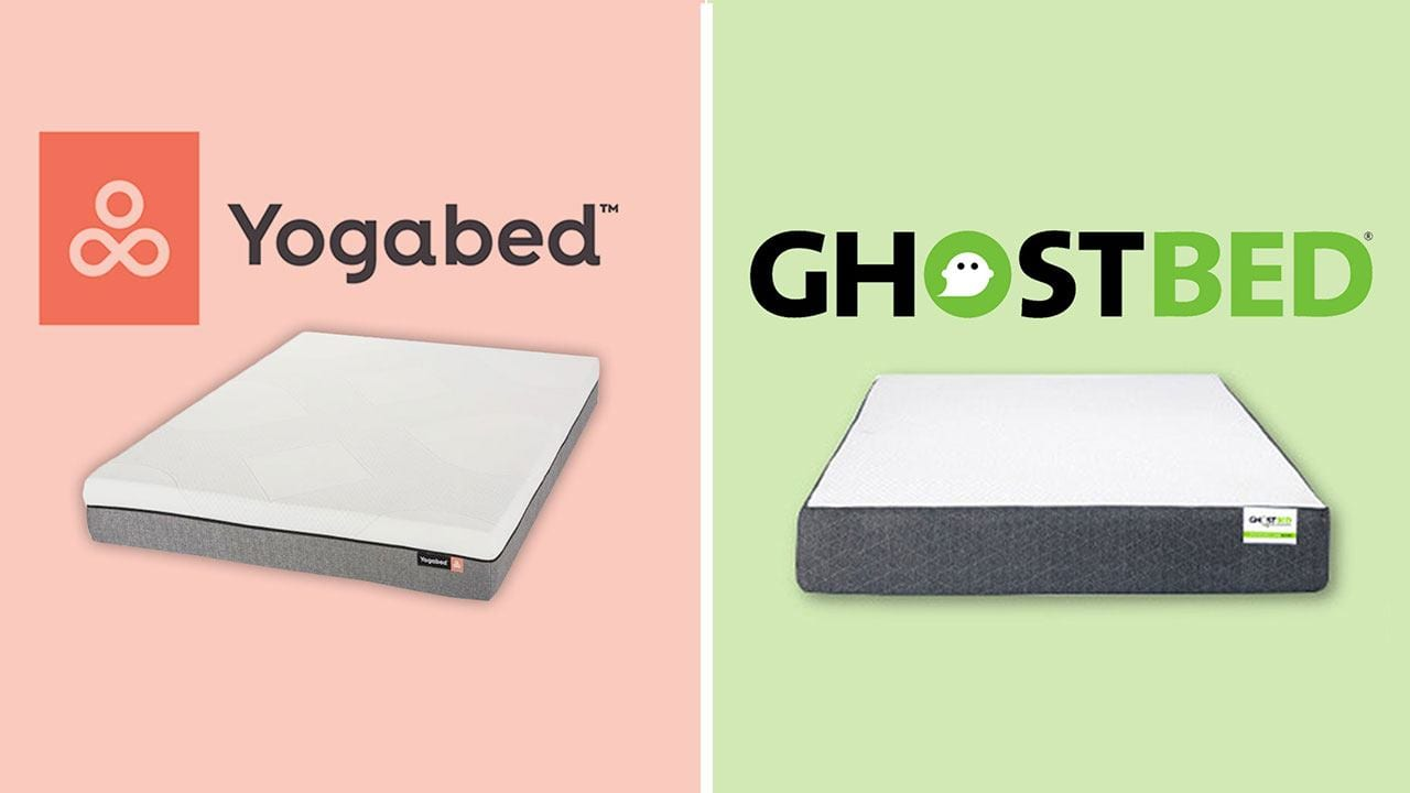 Yogabed vs GhostBed Mattress