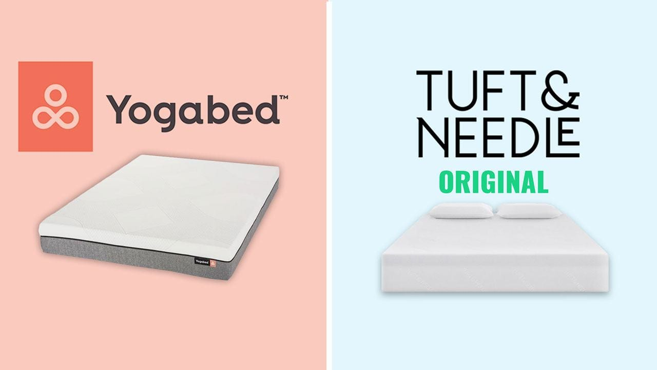 Yogabed vs Tuft and Needle Mattress