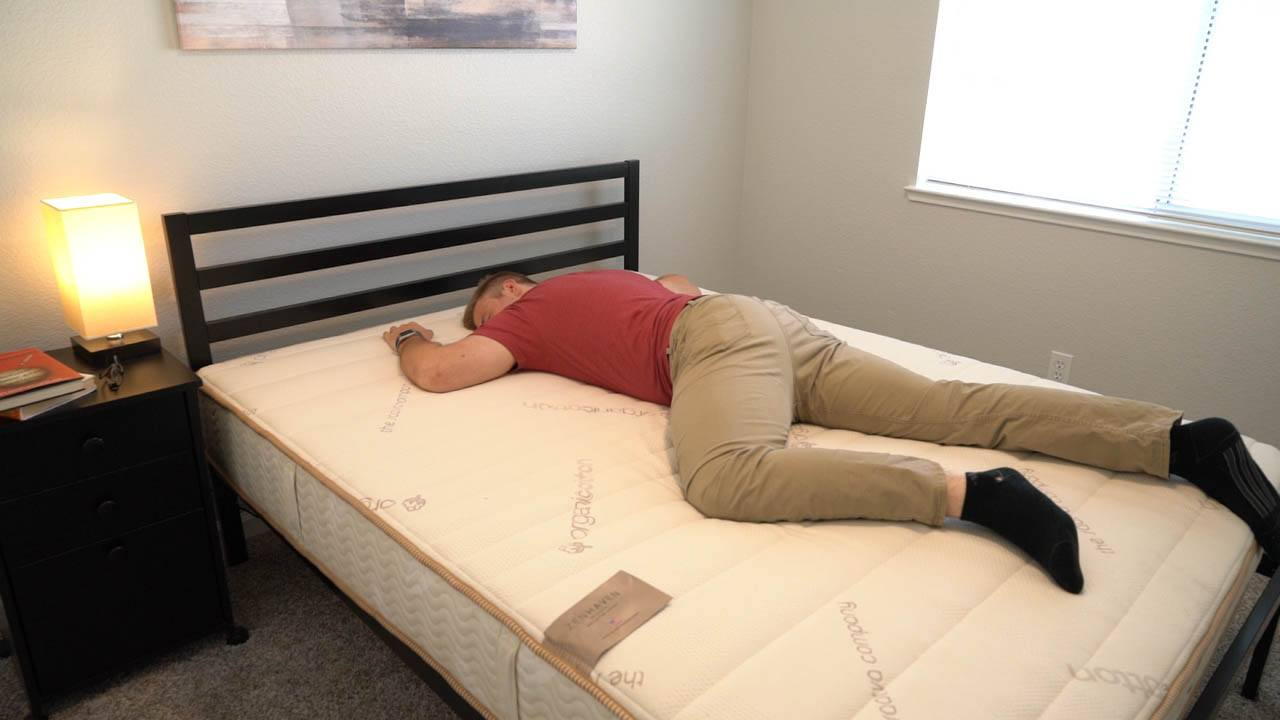 zenhaven mattress stomach sleeper