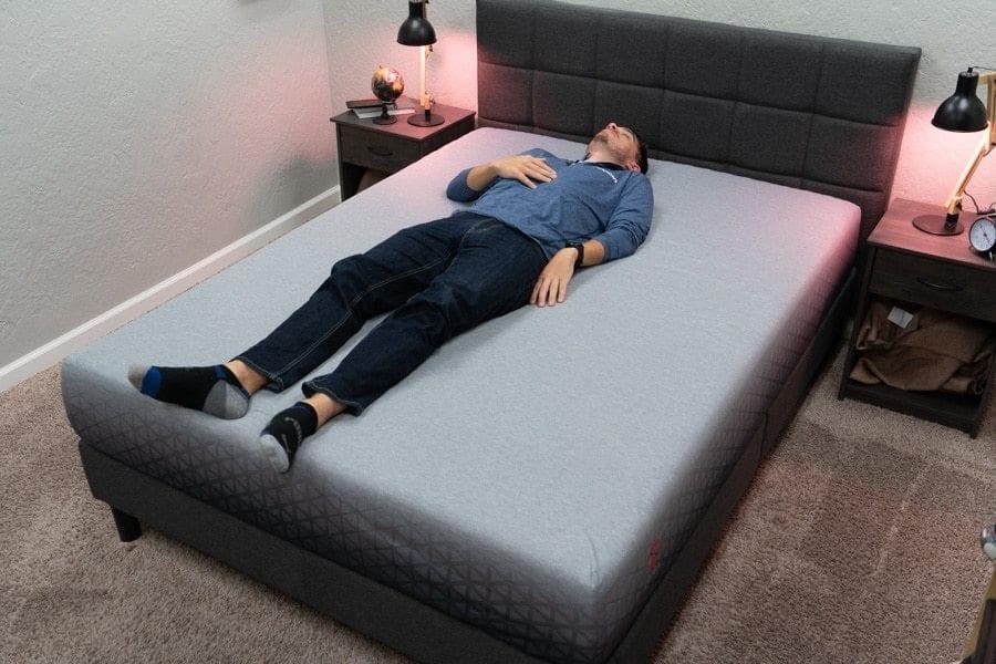 zoma mattress review back sleeper