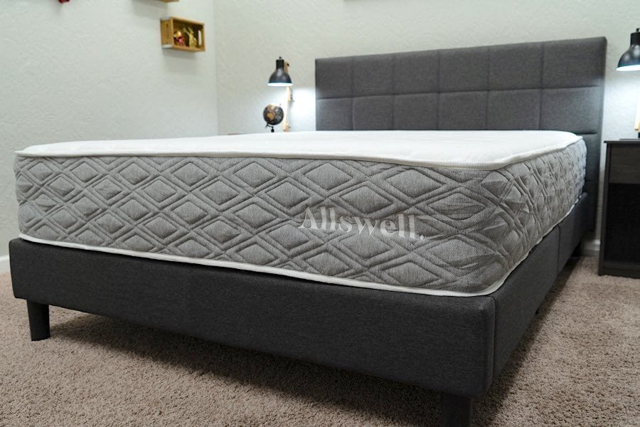 allswell mattress review the luxe hybrid