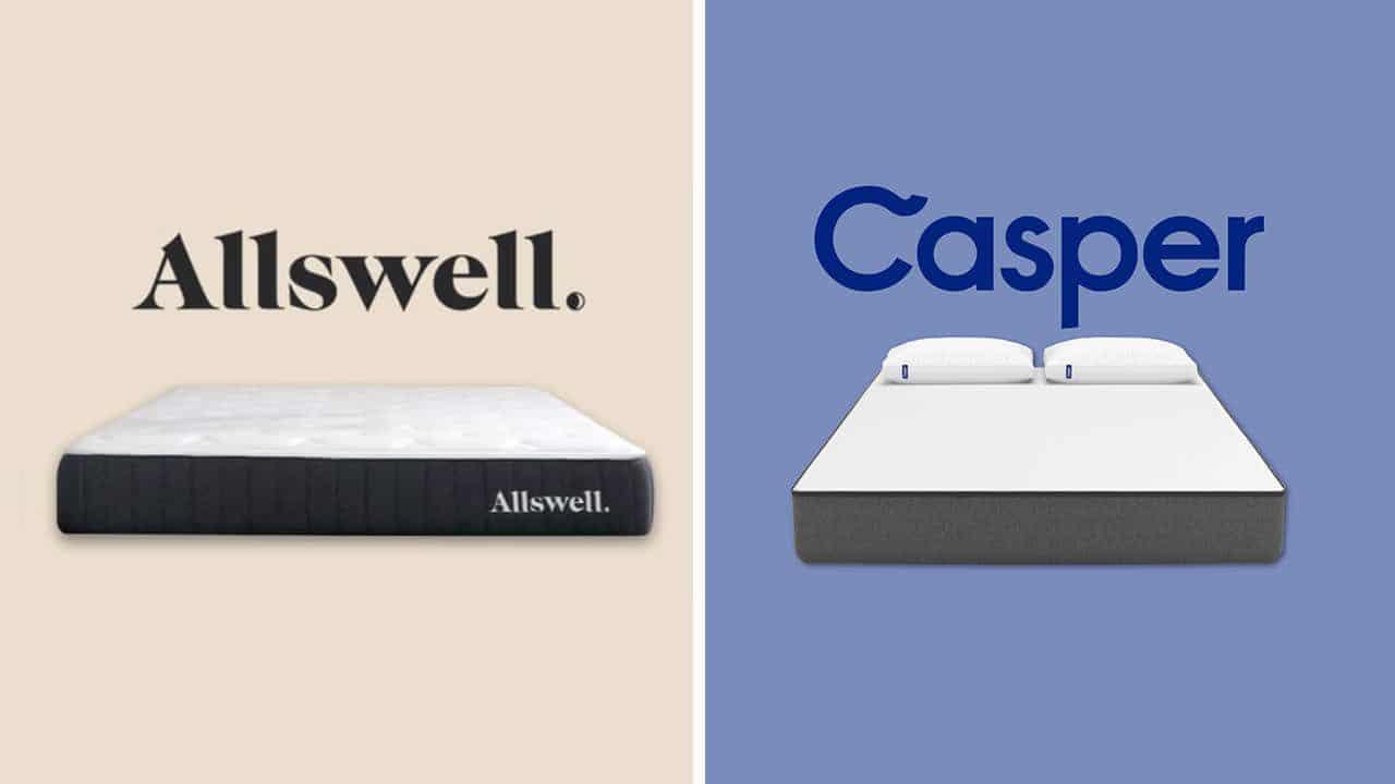 allswell vs casper mattress review and comparison