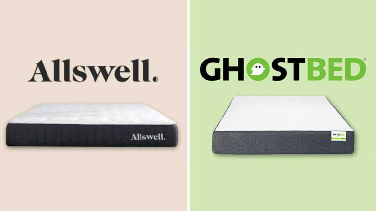 Allswell vs GhostBed Mattress