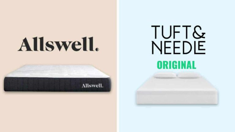 Allswell vs Tuft and Needle Mattress