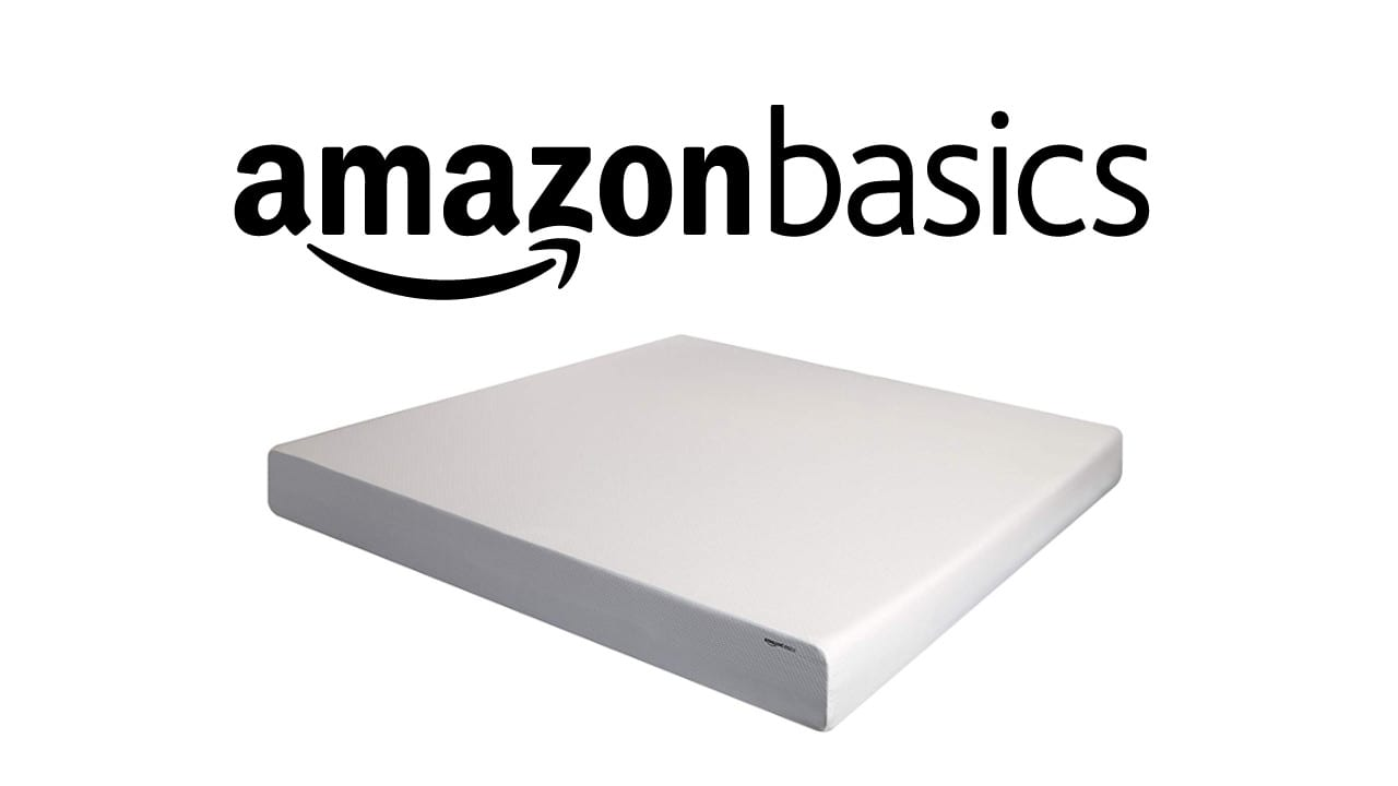 amazonbasics memory foam mattress review