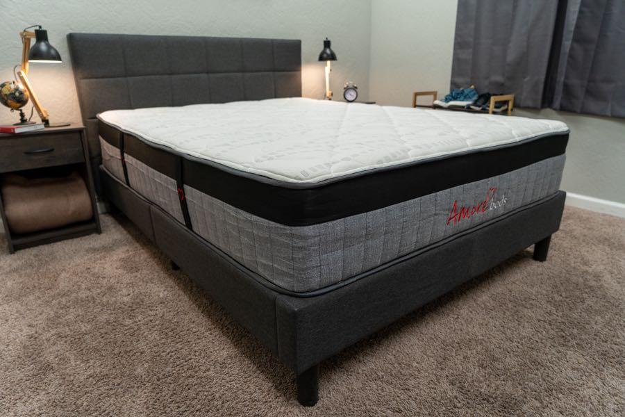 amore mattress reviews luxury hybrid