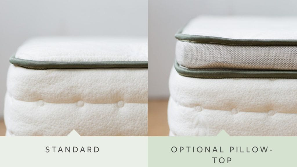 avocado mattress review pillow top