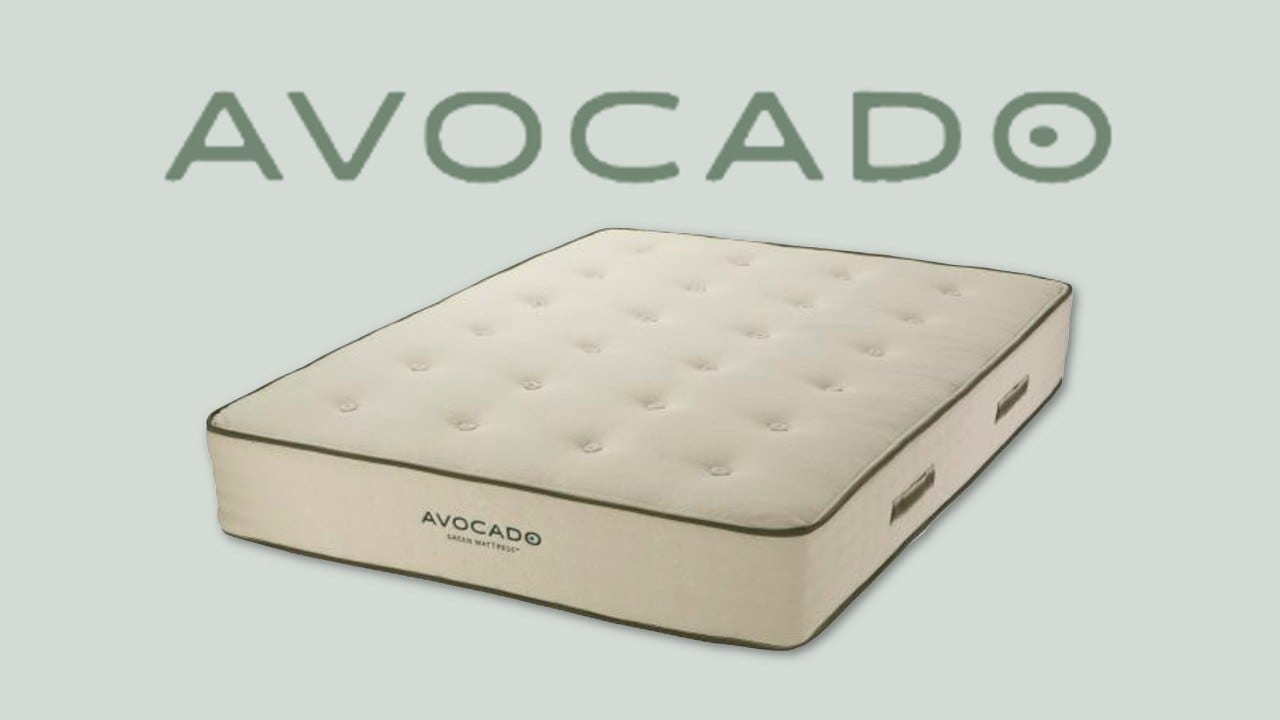 avocado green mattress review bed in a box hybrid mattress