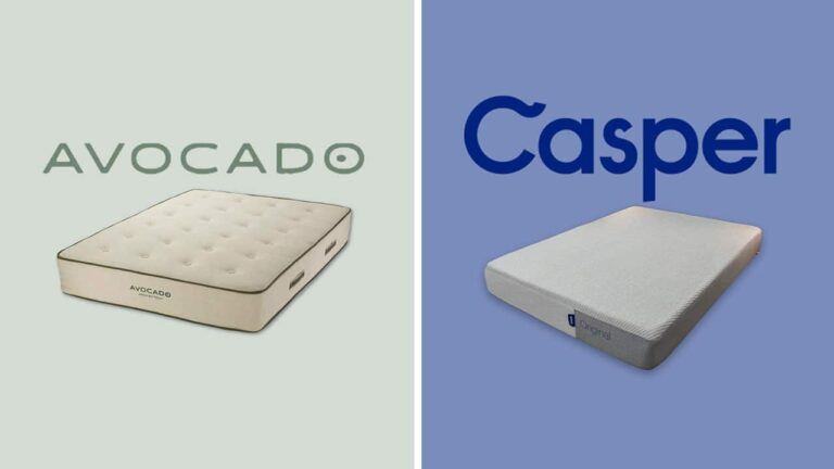 Avocado vs Casper Mattress