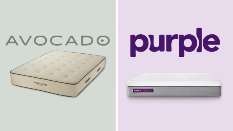 Avocado vs Purple Mattress Comparison