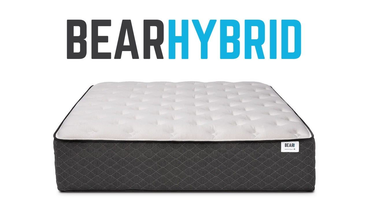 bear hybrid mattress review coupon code promo code discount bed