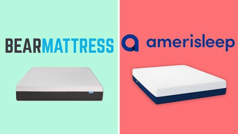 Bear Mattress vs Amerisleep