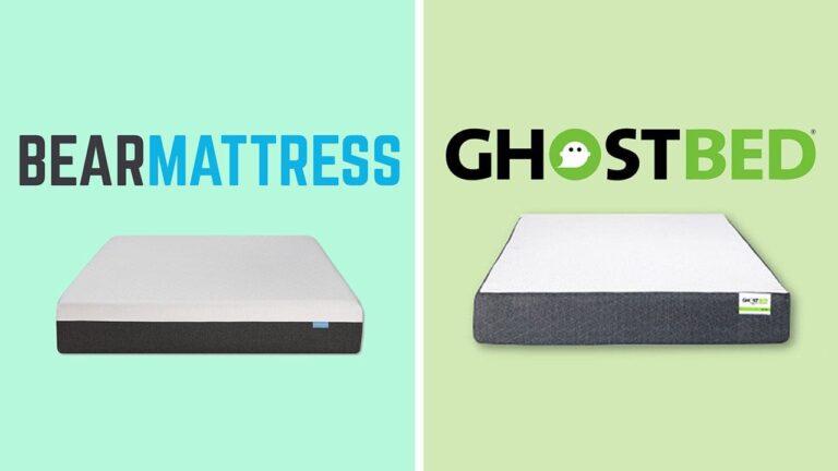 Bear Mattress vs GhostBed