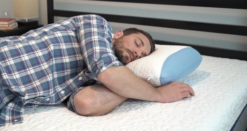 bear mattress pillow review side sleepers