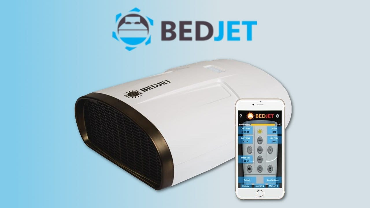 bedjet review coupon code deal heating cooling system bed jet