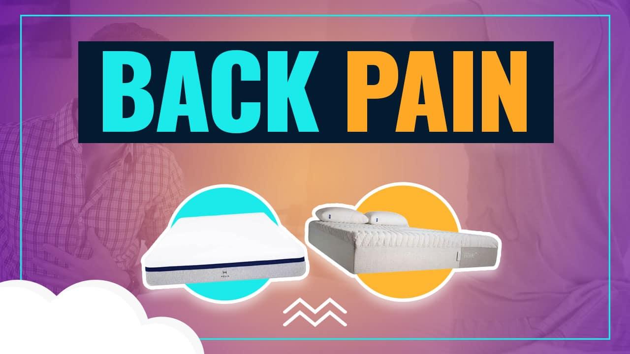 best mattress for back pain reviews