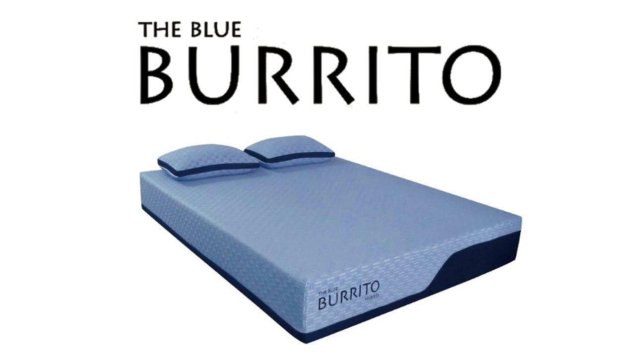Blue Burrito Memory Foam product