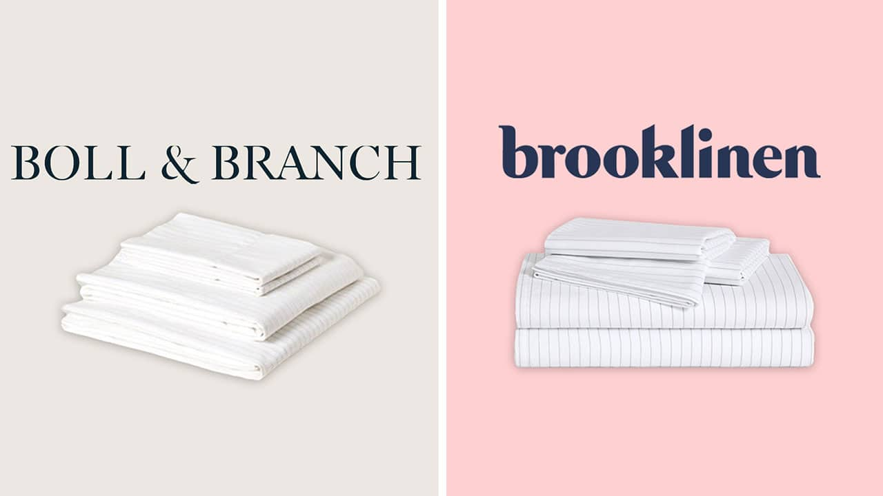 Boll and branch vs brooklinen sheets