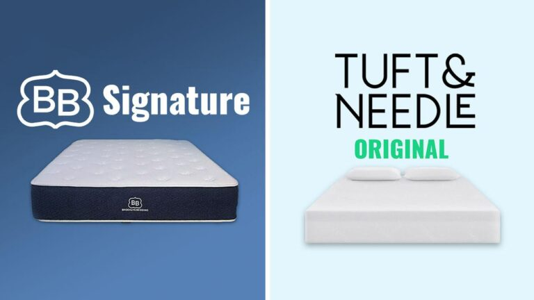 Brooklyn Bedding vs Tuft and Needle Mattress