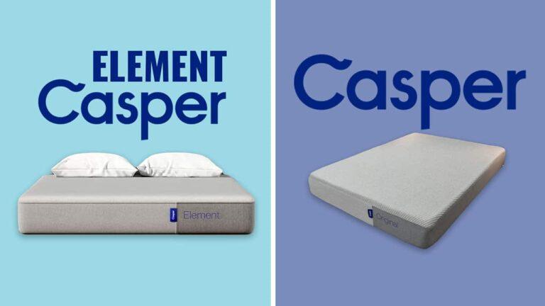 Casper Element vs Casper Original Mattress Comparison
