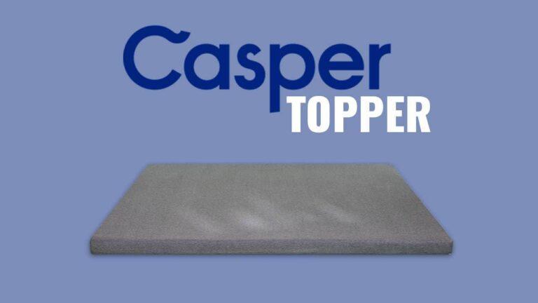 Casper Topper – 3 Layer Foam Design