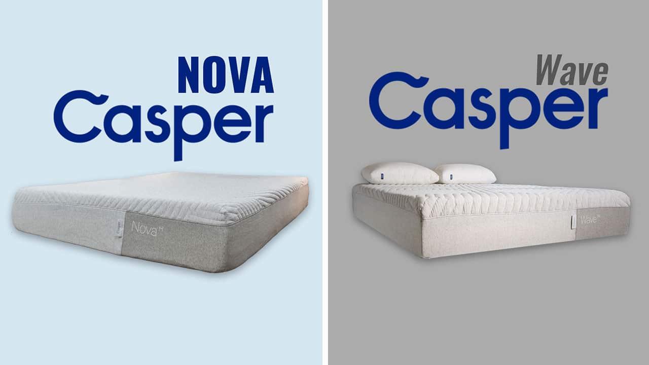Casper Nova vs Casper Wave Mattress