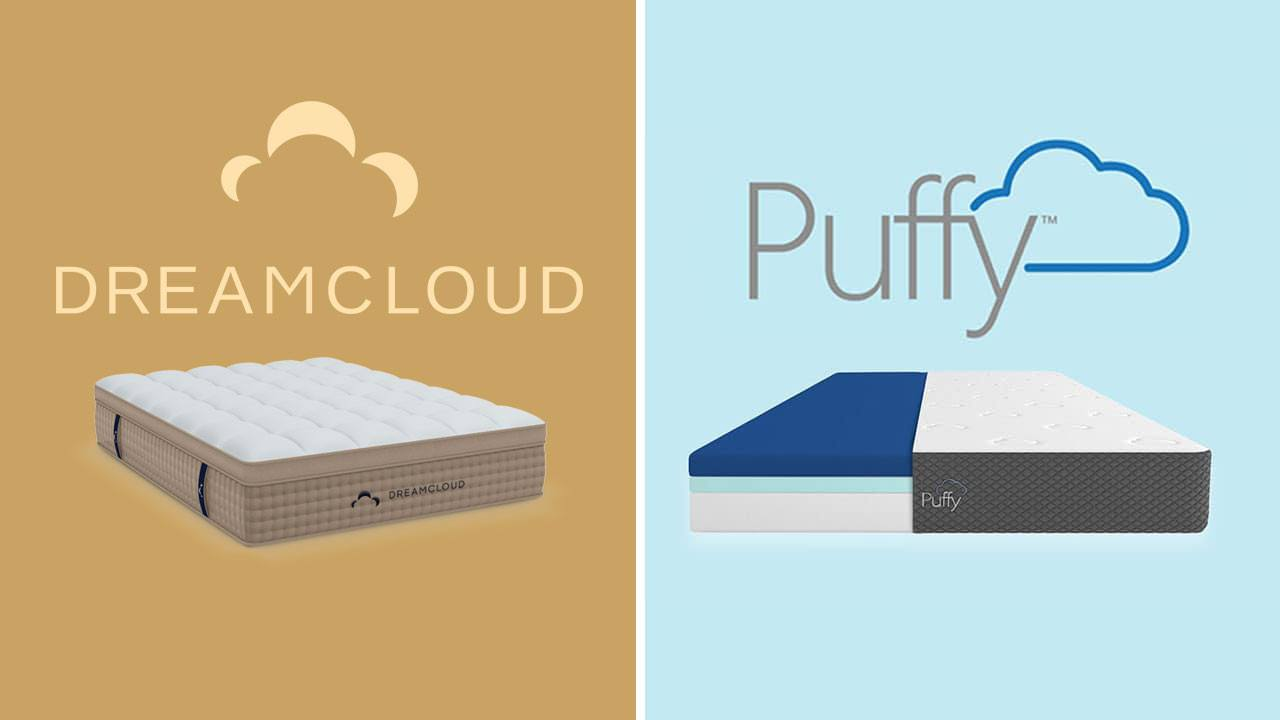 dreamcloud vs puffy mattress review and comparison deal