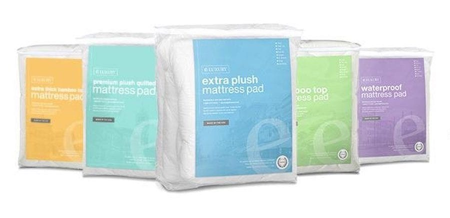 eluxury supply mattress topper pad review bamboo amazon exceptionalsheets
