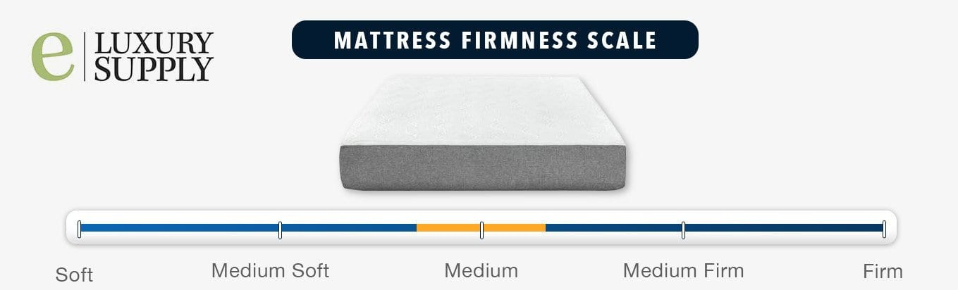 eluxury mattress review firmness