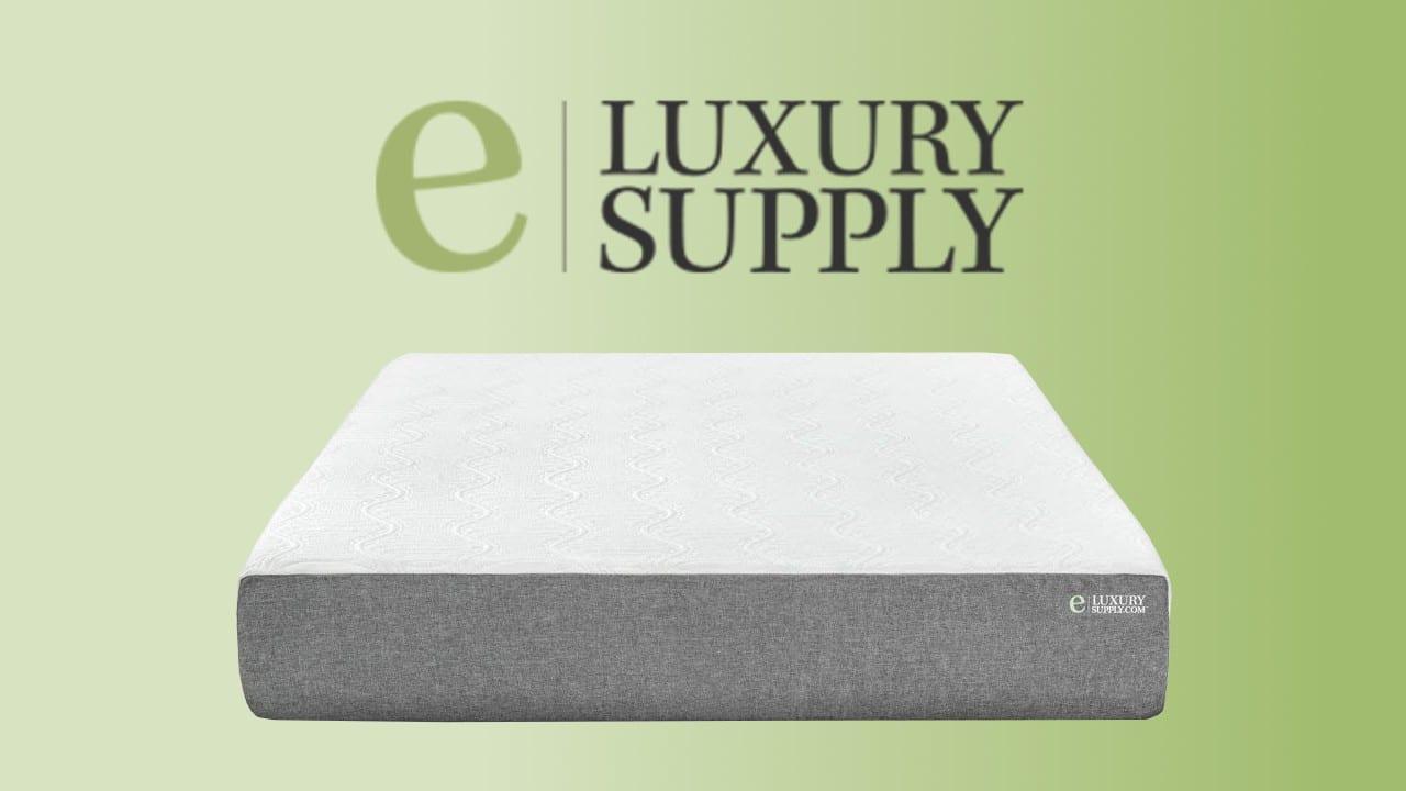eLuxury Gel Memory Foam Mattress product