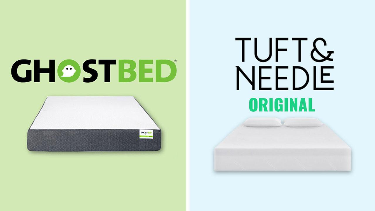 GhostBed vs Tuft and Needle Mattress