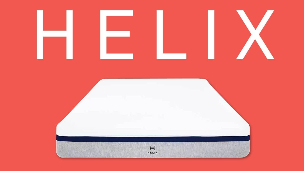 helix mattress review sleep coupon code deal discount helix sleep
